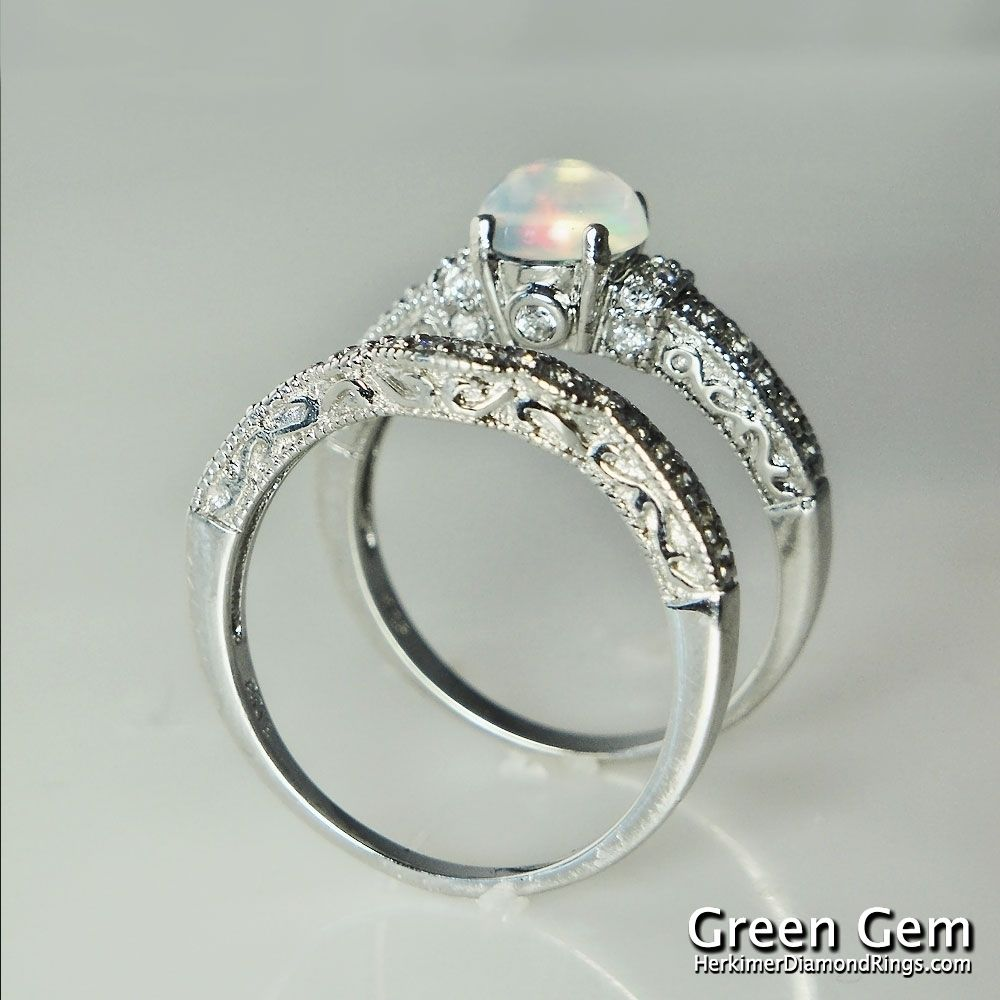 Opal ring I love Opals It is crazy bad luck to wear an opal if it