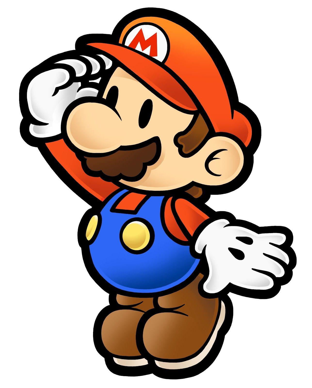 Staring_Mario.jpg (1287×1600) Paper mario, Mario, Mario bros