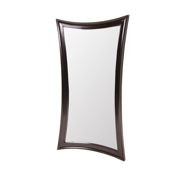Lynden Espresso Wall Mirror Mirror Wall Mirror Living Dining Room