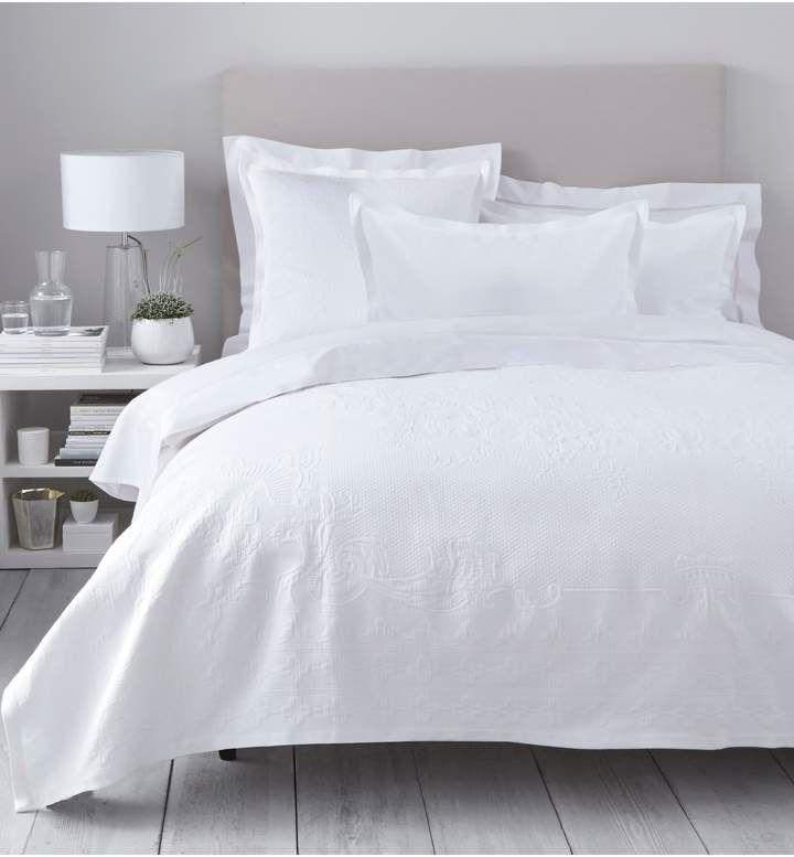 60b40025db Dena Atelier Somerset Queen Duvet Cover In White in 2019   Products   Linen  duvet, Duvet bedding, Duvet covers