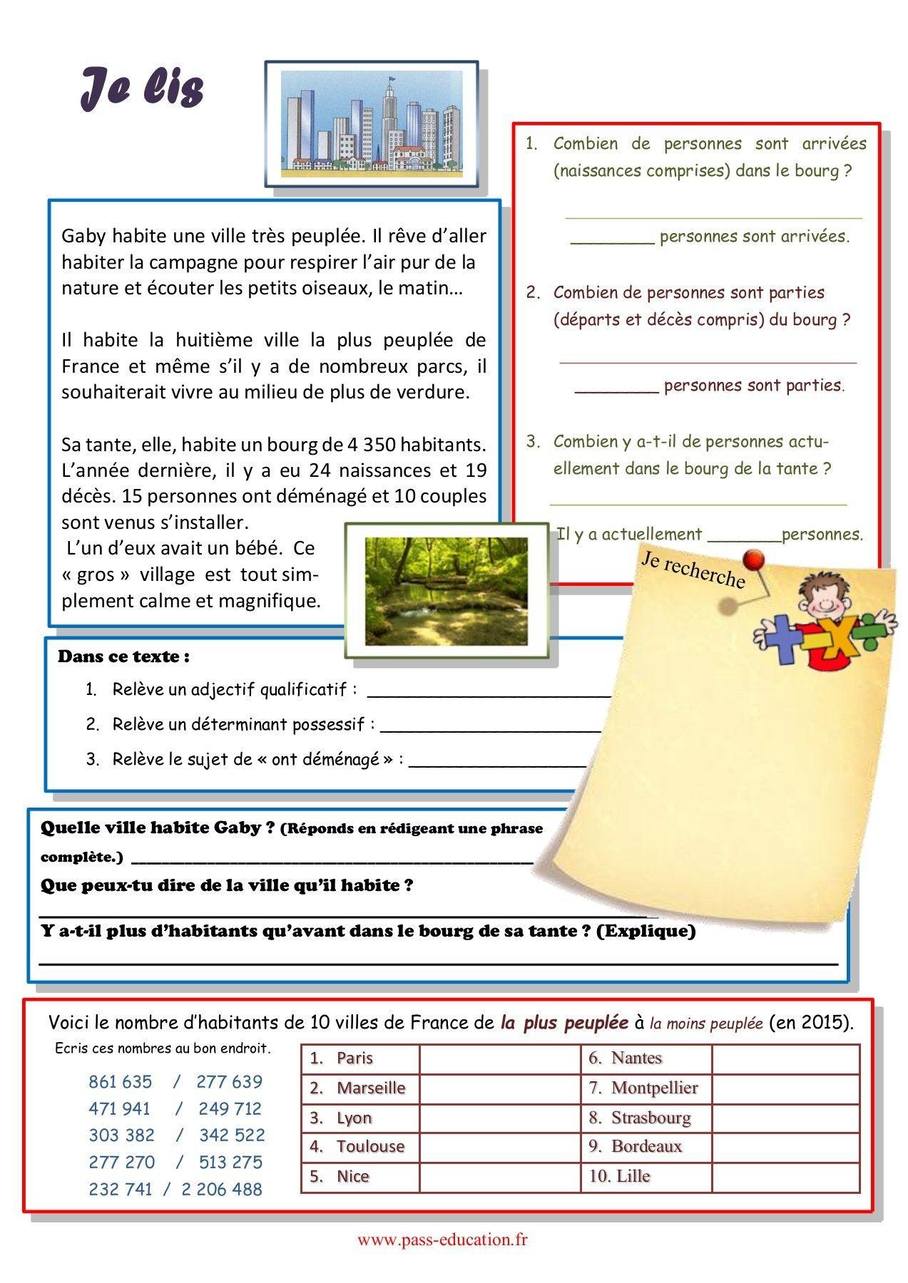 Cahier de vacances gratuit à imprimer - CM1 vers le CM2 ...