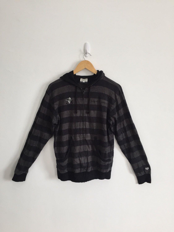 8f24eaa22b4 BOUNTY HUNTER Hoodies Zipper Sweater Sweatshirt armpit 20