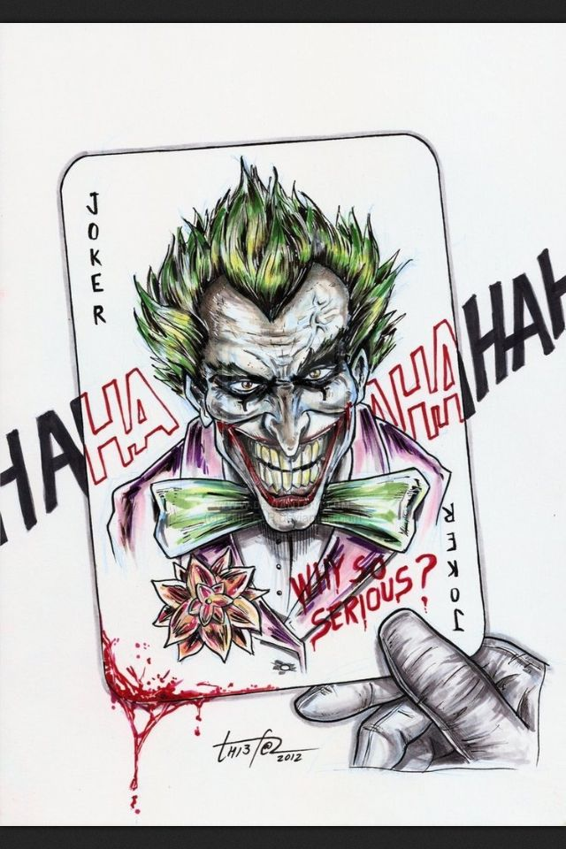 Batman Joker Card Tattoo