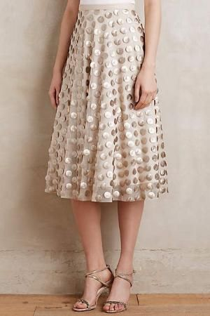Epoque Midi Skirt by cristina