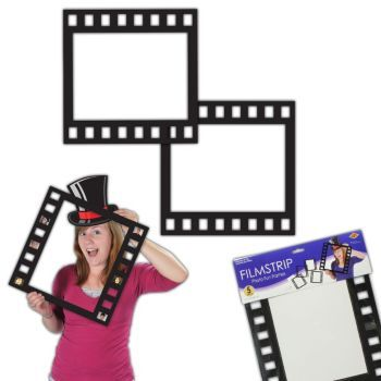 Use These Filmstrip Photo Frames As Props In Your Hollywood Themed Photo Booth You Can Also Use Them Hollywood Party Theme Movie Themed Party Hollywood Party