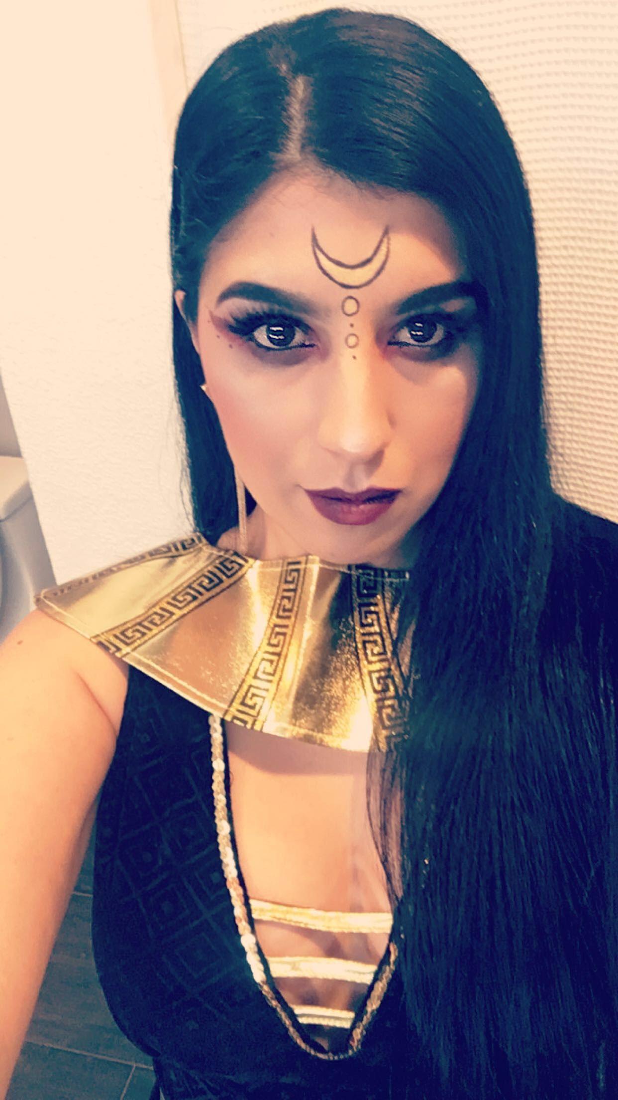 Egyptian goddess makeup Goddess makeup, Egyptian goddess