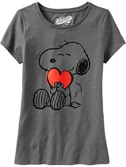 28db865a77054c Womens Snoopy® Heart Tees. Cute for a jammie top. | Fashion in 2019 ...