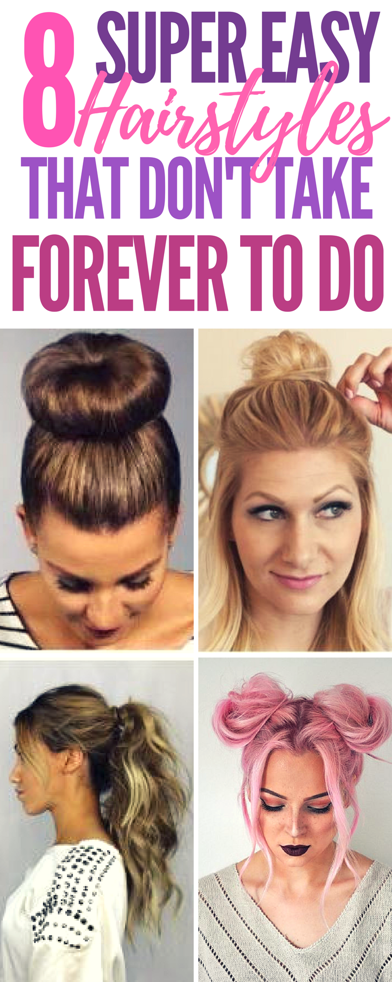 super easy updo hairstyles that donut take forever to do strive