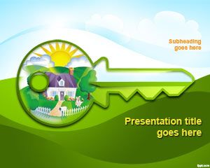 Free green house concept powerpoint template free powerpoint free green house concept powerpoint template free powerpoint templates toneelgroepblik Images