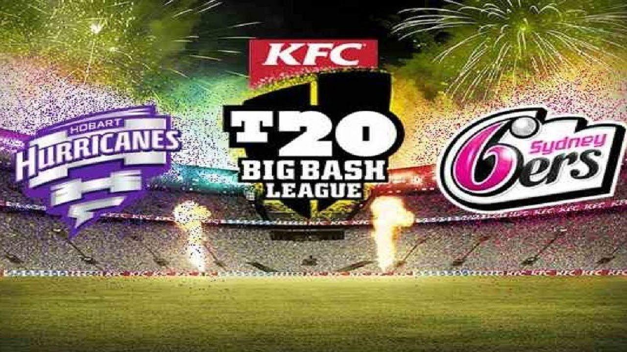 BBL 20182019 Live score of Hobart Hurricanes vs Sydney