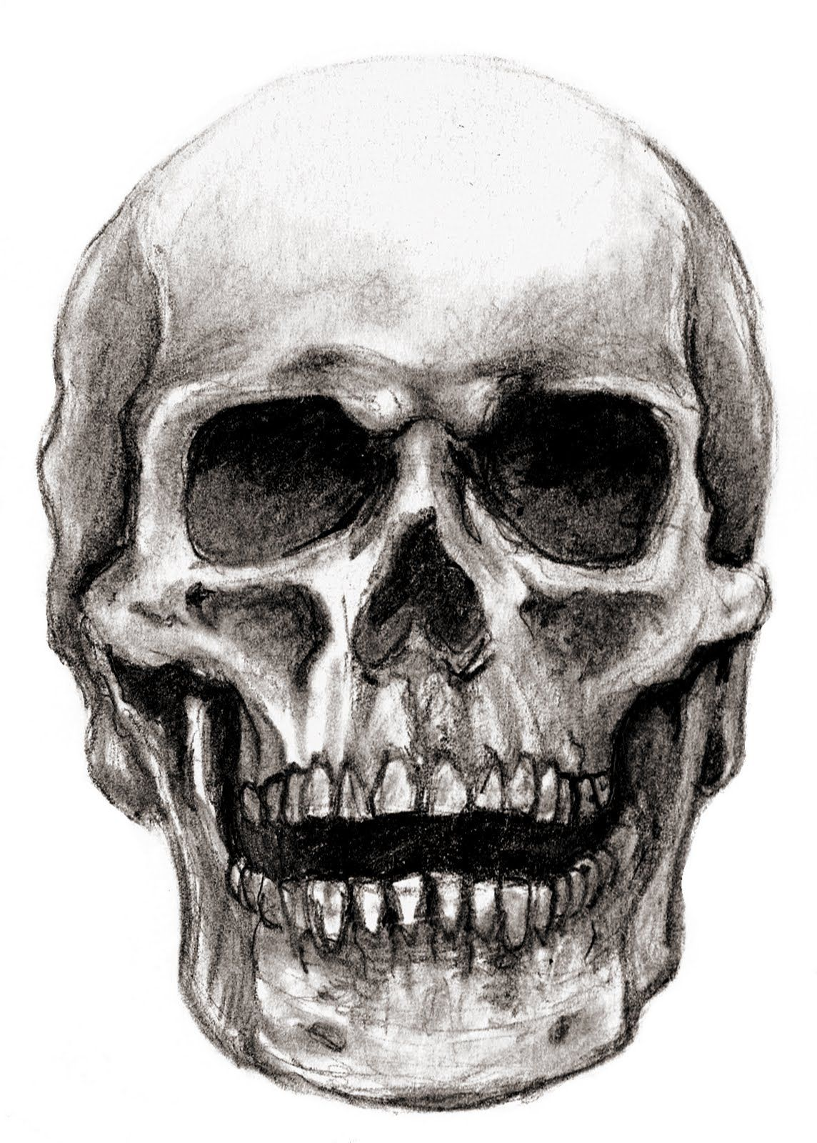 skull by ~nachiii on deviantart | art | pinterest | beautiful, my, Human Body