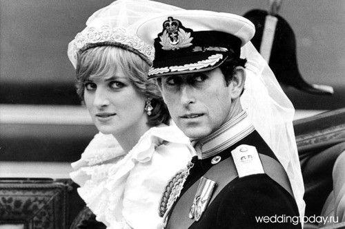 Принц и принцесса Уэльские. | Свадьба принцессы дианы ...