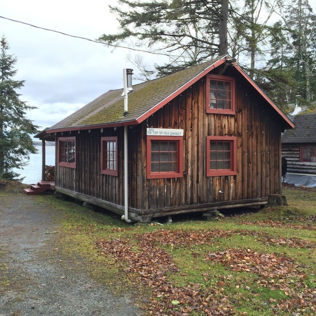 Rustic Cabin Rentals With Private Loft Space Near Baxter