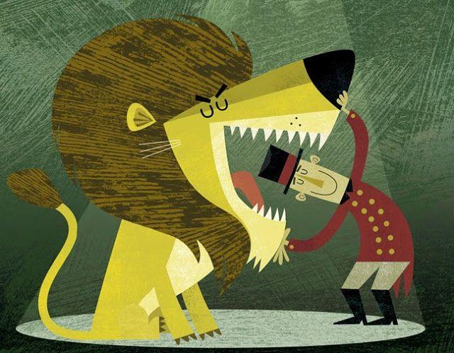 lion tamer by michael robertson