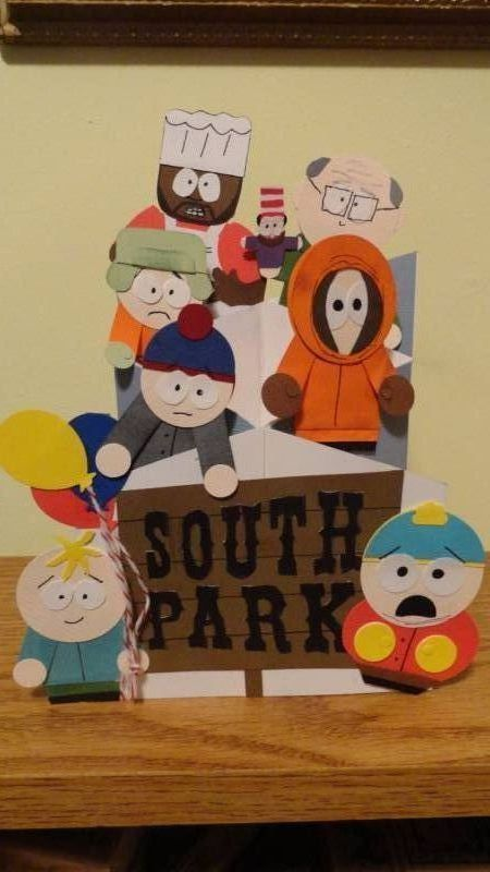 South Park Birthday By Damommma Cards And Paper Crafts At