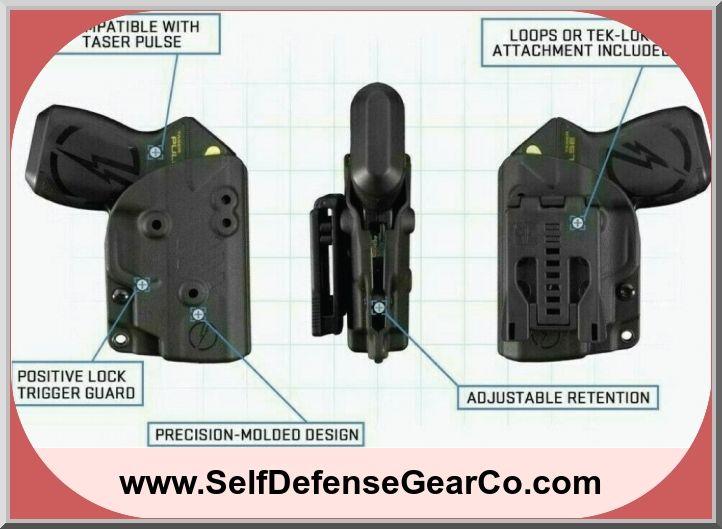 Bladetech owb kydex holster for taser pulse kydex