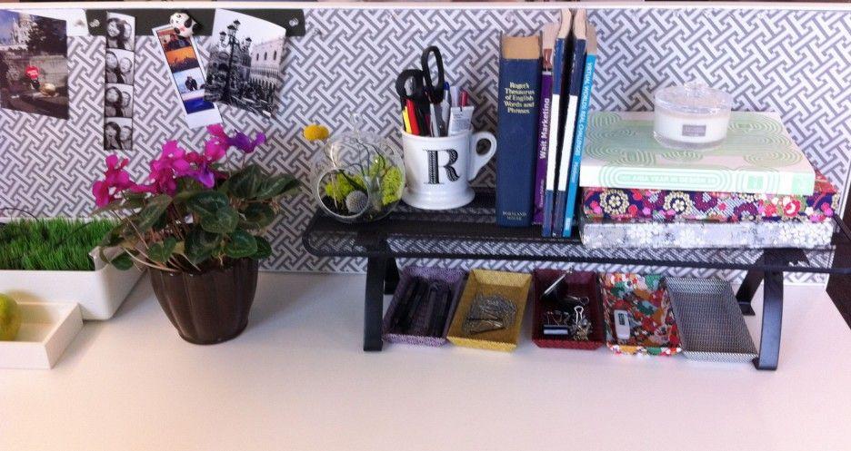 Beautiful Office Desk Cubicle Decoration Ideas Design Accessories