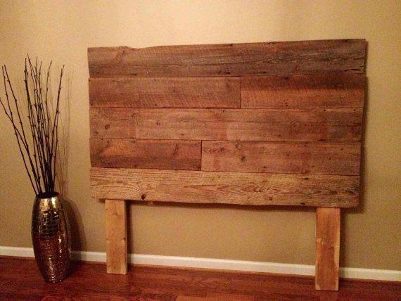 Affordable reclaimed barnwood headboards in Alabama | House ...