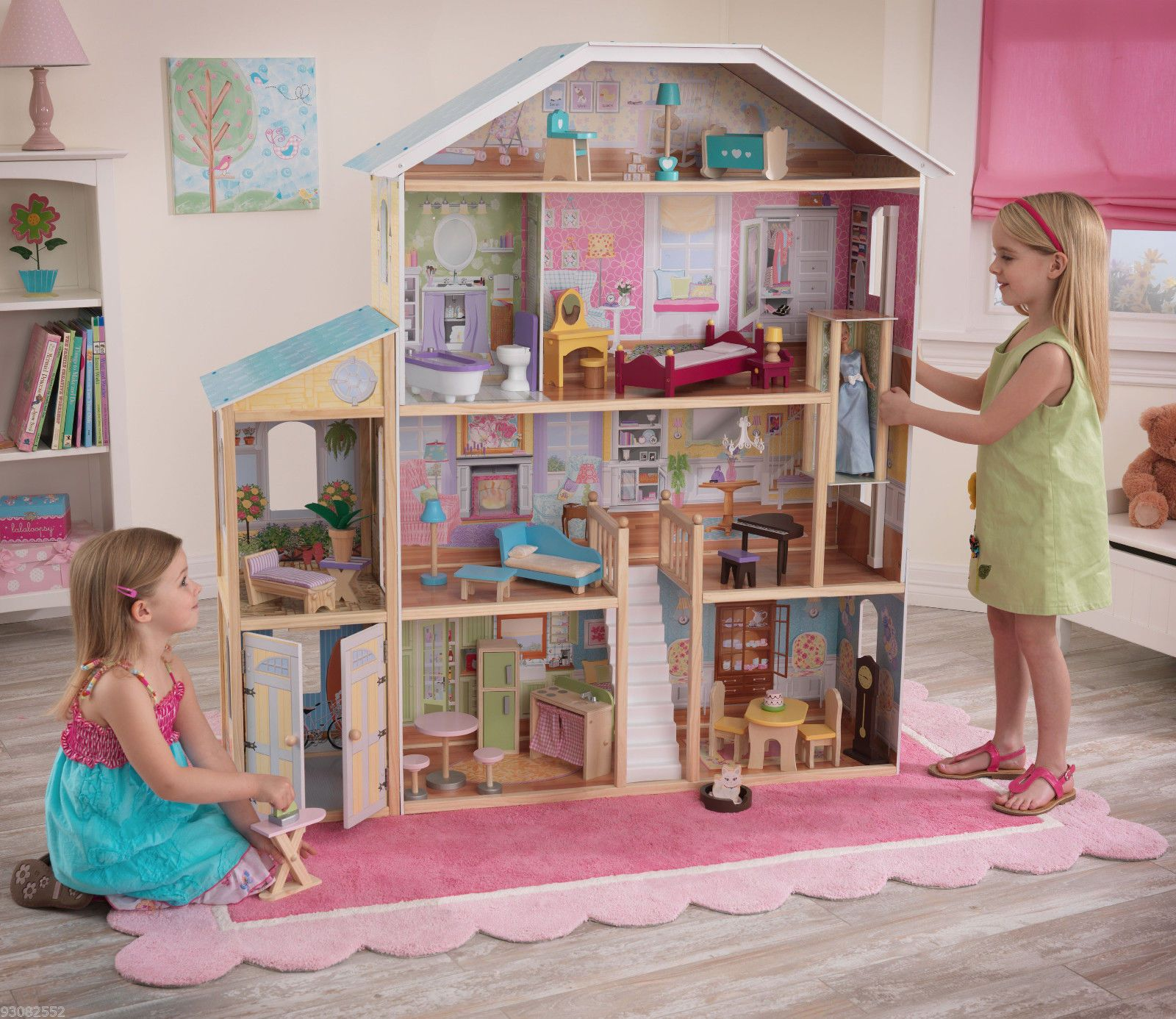 Majestic Mansion By Kidkraft  Beautiful Dollhouse Gr8T For Barbie