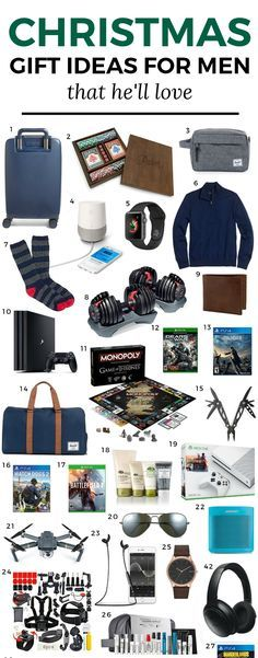the best christmas gift ideas for men the ultimate christmas gift guide for men by blogger ashley brooke nicholas featuring man approved gift ideas