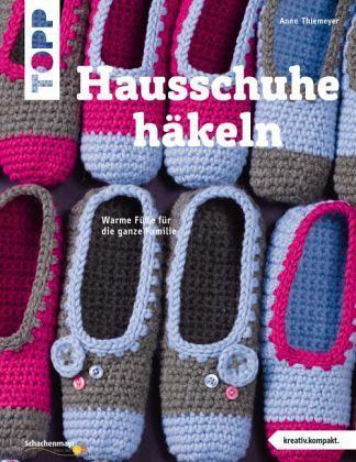 Hausschuhe Häkeln Kreativkompakt Thiemeyer Anne Bücher