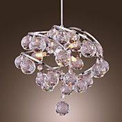 Colgante 60W cristal moderno con 3 luces en e... – CLP $ 78.496