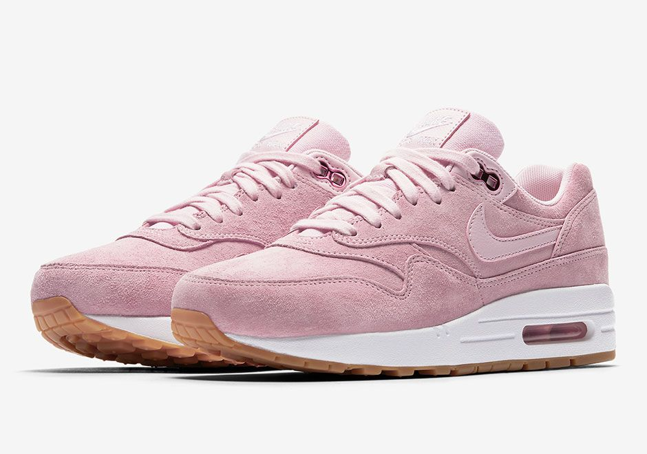 Nike Air Max 1 Pink Suede 919484-600 | SneakerNews.com