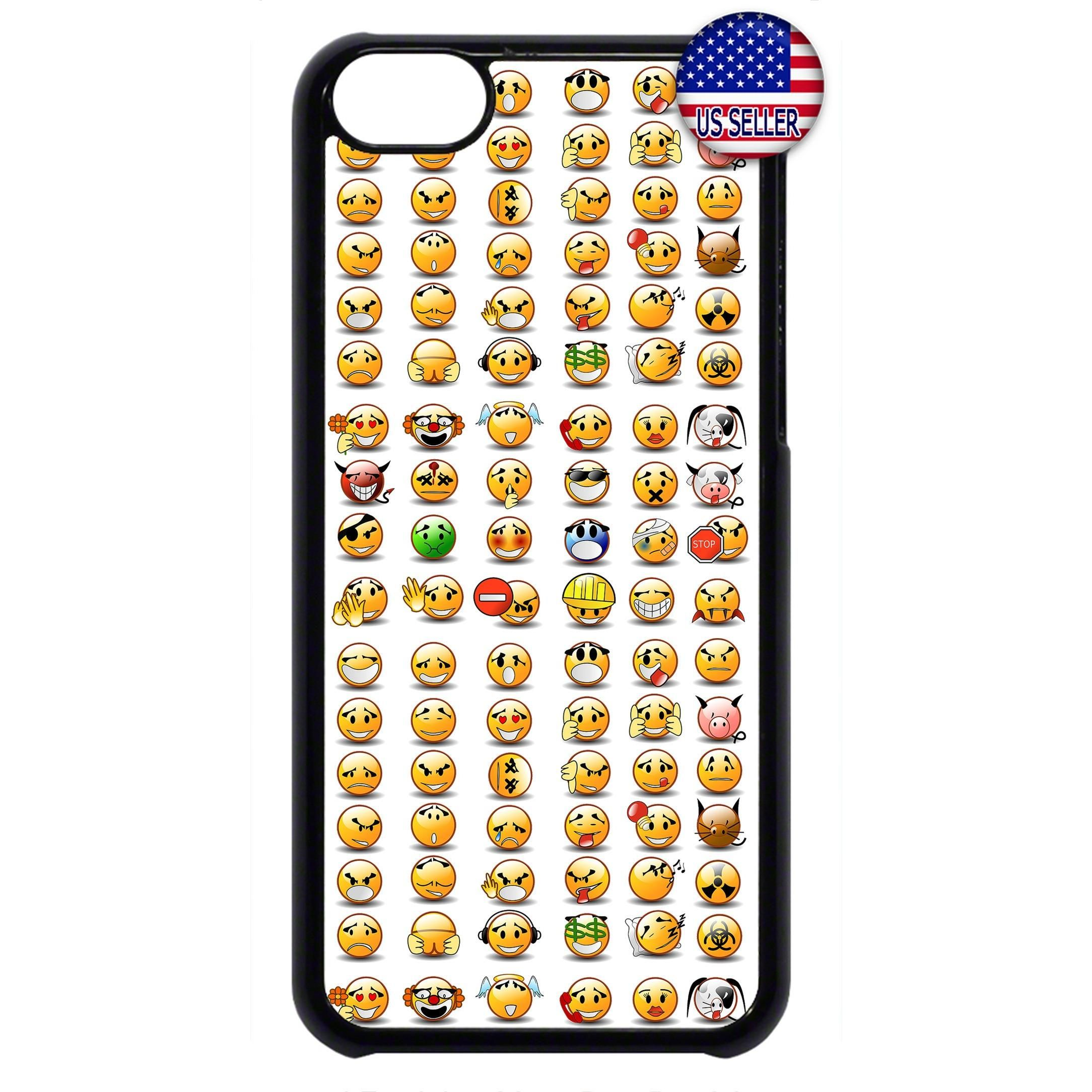 Funny Emoji Emoticons Rubber Case Cover For Ipod Touch Funny Emoji Rubber Case Emoji