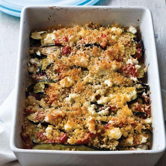 Layered Eggplant, Zucchini and Tomato Casserole   Food & Wine