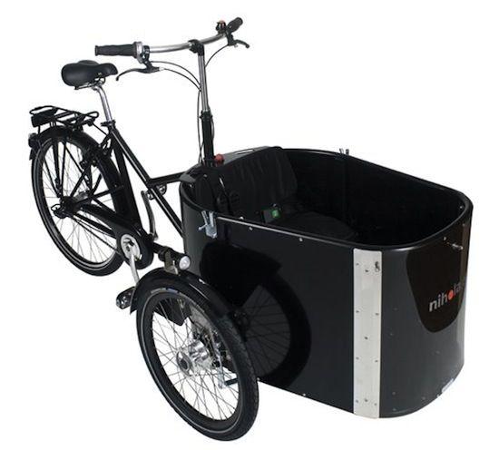 Nihola Cargo Trike Polkupyörä Cargo Bikebike Ja Bicycle Cart
