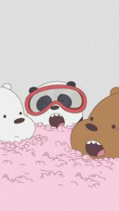 خلفيات الدببه الثلاثة 2020 افضل رمزيات وصور كرتونية جميلة وكيوت للأطفال والكبار Bear Wallpaper We Bare Bears Wallpapers We Bare Bears
