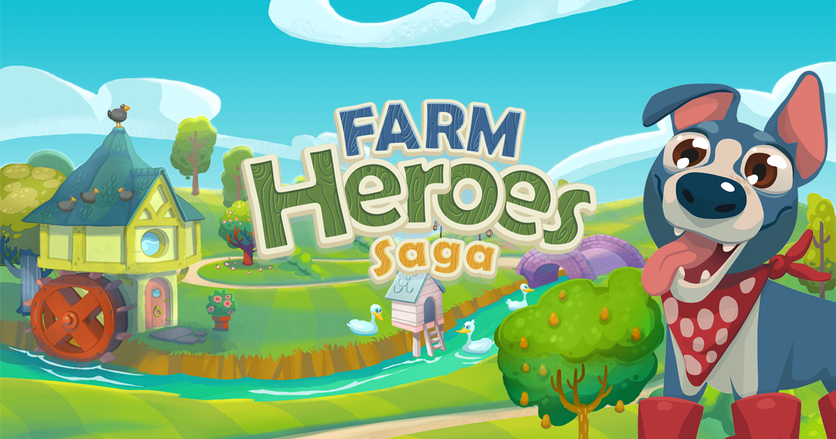 Play Farm Heroes Saga Online At King Com And Help The Adorable Cropsies Stop Rancid The Raccoon In This Fun And Fruity Game An Farm Hero Saga Farm Heroes Hero