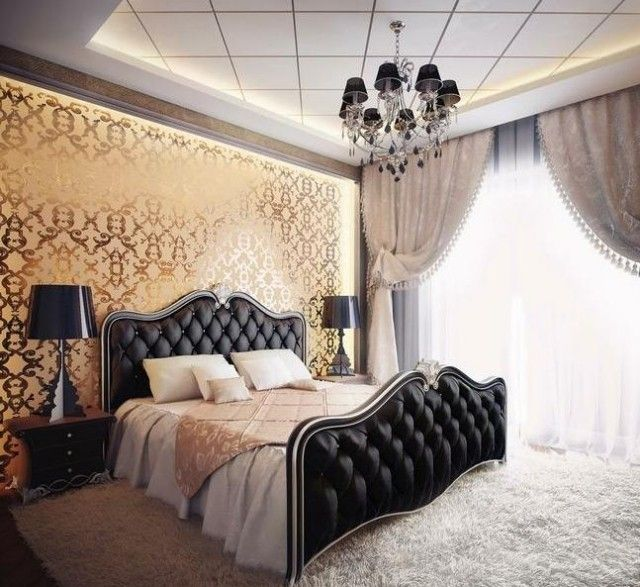 papier peint baroque 30 id es de luxe et exub rence la. Black Bedroom Furniture Sets. Home Design Ideas