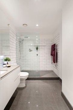 I Like The Idea Of A Step Up Semi Enclosed Shower No Need To Touch Things Upon Entering Or Modern Bathroom Bathroom Renovation Bathroom Renovations Melbourne