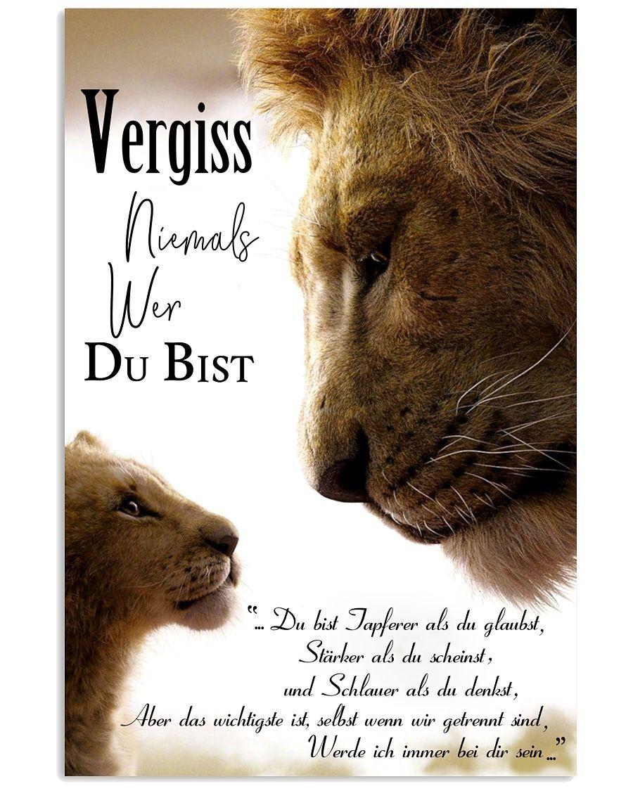 [NEUESTE] Lion king never forget who you are poster [NEUESTE] König der Löwen vergiss niemals wer du bist poster – diy best tattoo [LATEST] Lion King never forget who you are poster -
