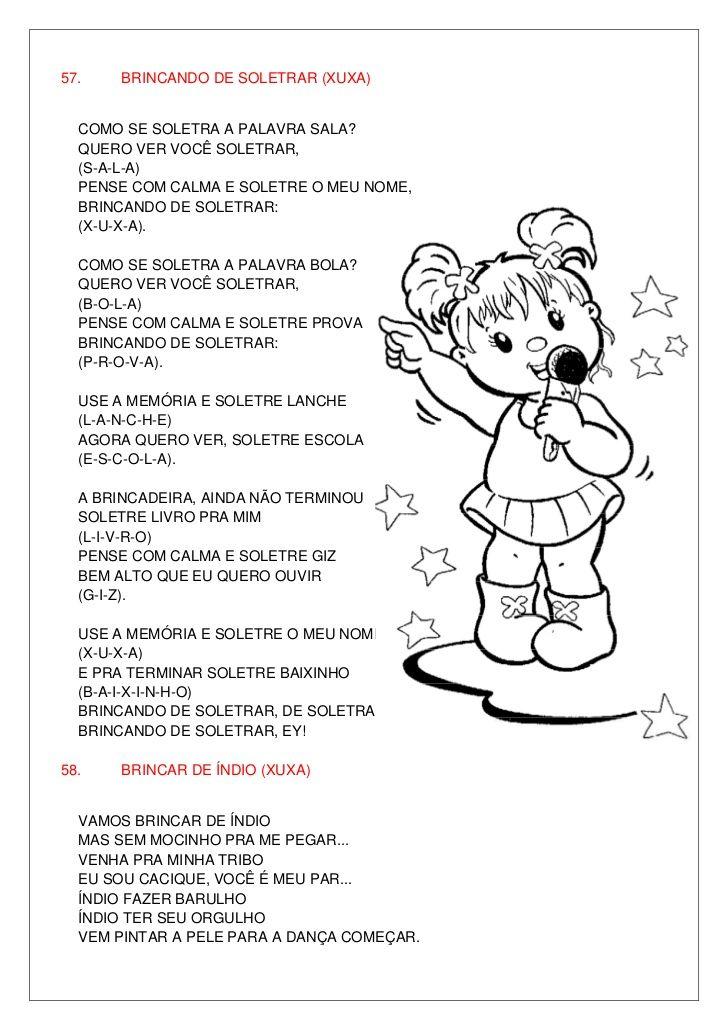 Amado Letras de músicas cd infantil 2010 | Thaylla | Pinterest | Letra  LJ81
