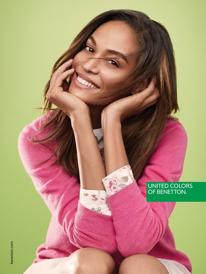 Joan Smalls Tapped for United Colors of Benetton Spring 2015 Campaign