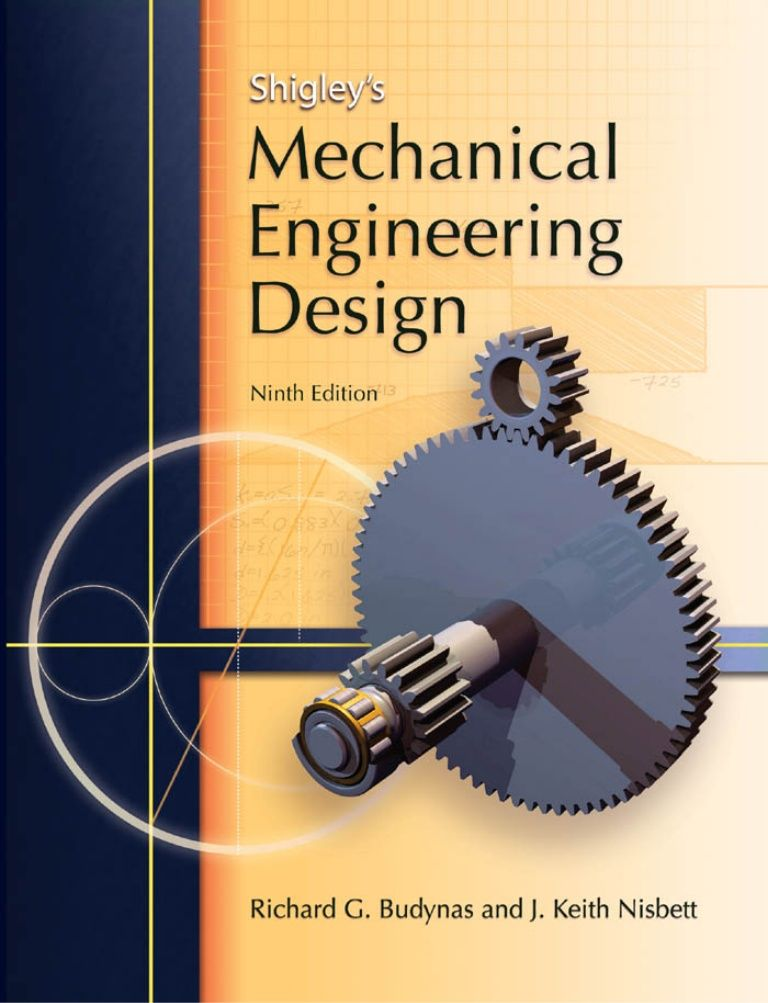 mechanical design of machine elements and machines pdf