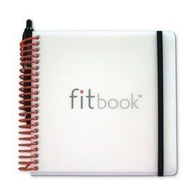 fitbook: fitness  nutrition journal (exercise journal fitness planners diet -  fitbook: fitness  nut...