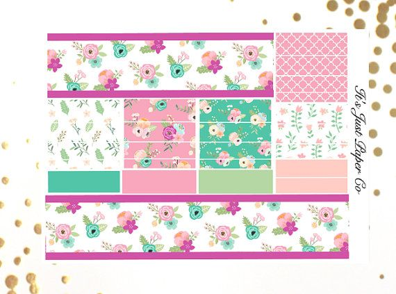Includes One Sheet Of Washi Strips Printed And Kiss Cut Stickers