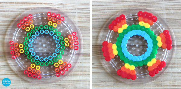 Make your own Fidget Spinners that work Fuse beads, Diy