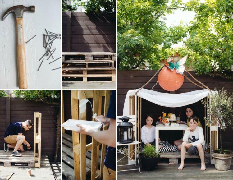 Garten Für Kinder Diy Kindermöbel Und Spielecken Für Draußen