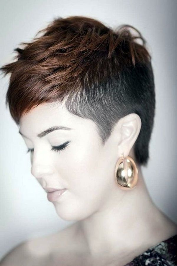 Womens Hairstyles 45 Superchic Shaved Hairstyles For Women In 2016  Pinterest