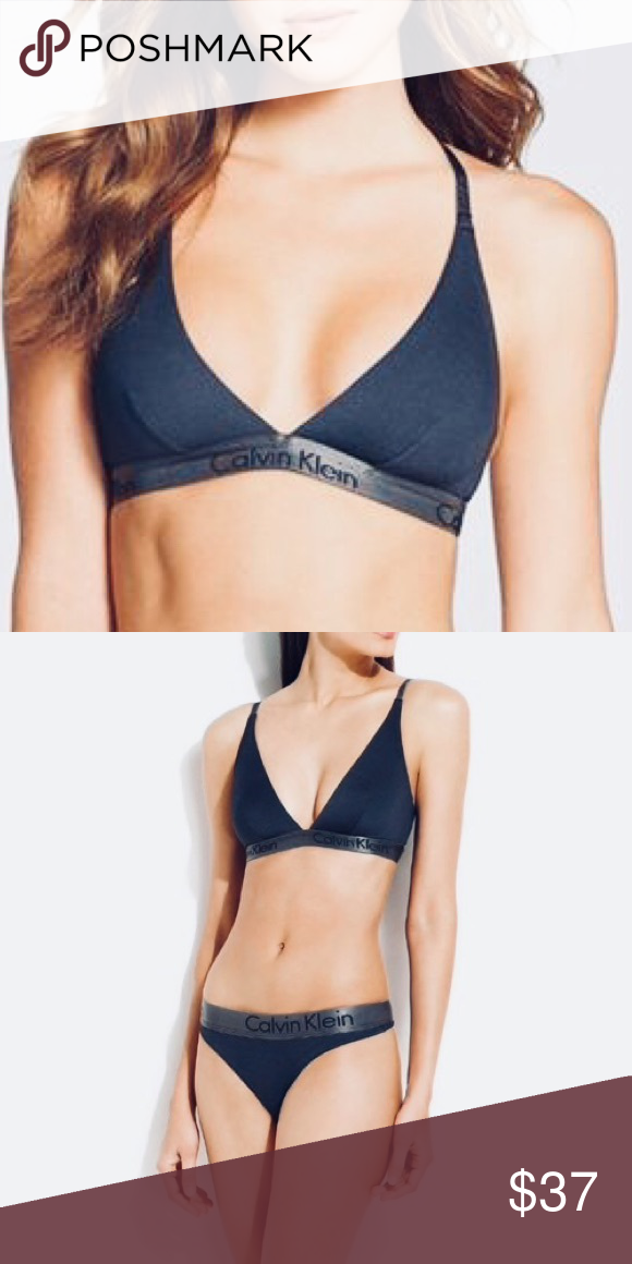 6e5bcb671cc3 NEW Calvin Klein Bralette Classic & Comfortable Size M New without tags Tags:  Lululemon Adidas Nike Tommy Hilfiger Victoria's Secret Calvin Klein  Intimates ...