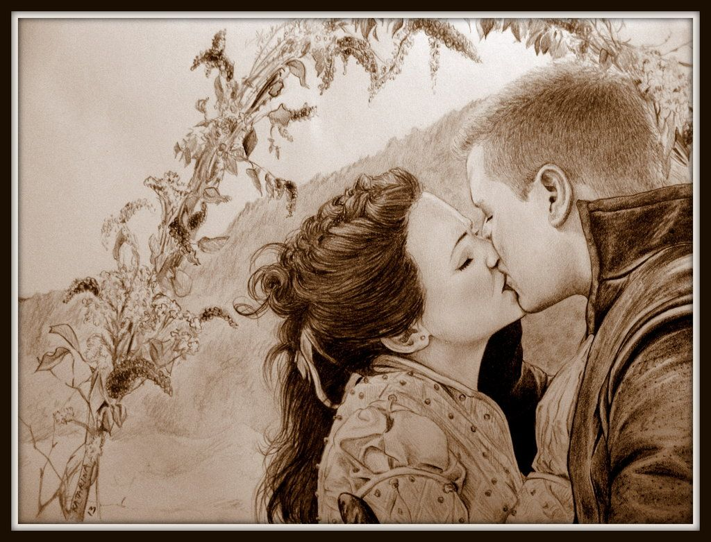 Wedding Kiss by KatBjorky on deviantART ~ Snow White & Prince Charming of Once Upon a Time tv series