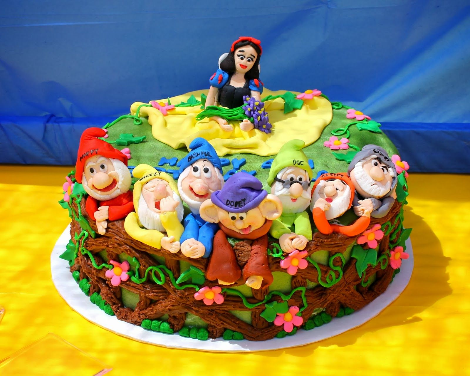 Snow White Cake Food Ideas Party Princess