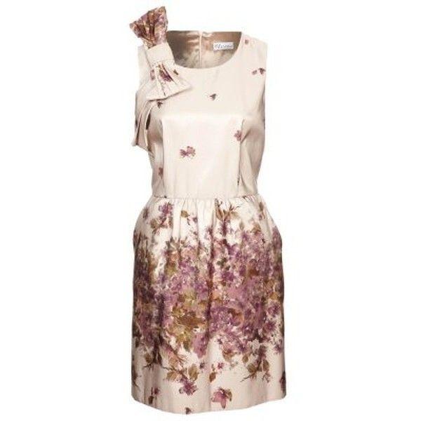 RED Valentino Cocktailkleid festliches Kleid purple beige ❤ liked ...