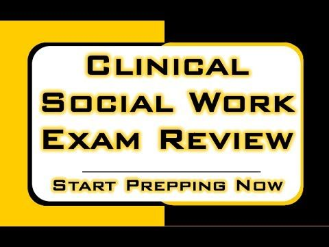 Clinical Social Work Exam Review Http Www Aswbsecrets Com