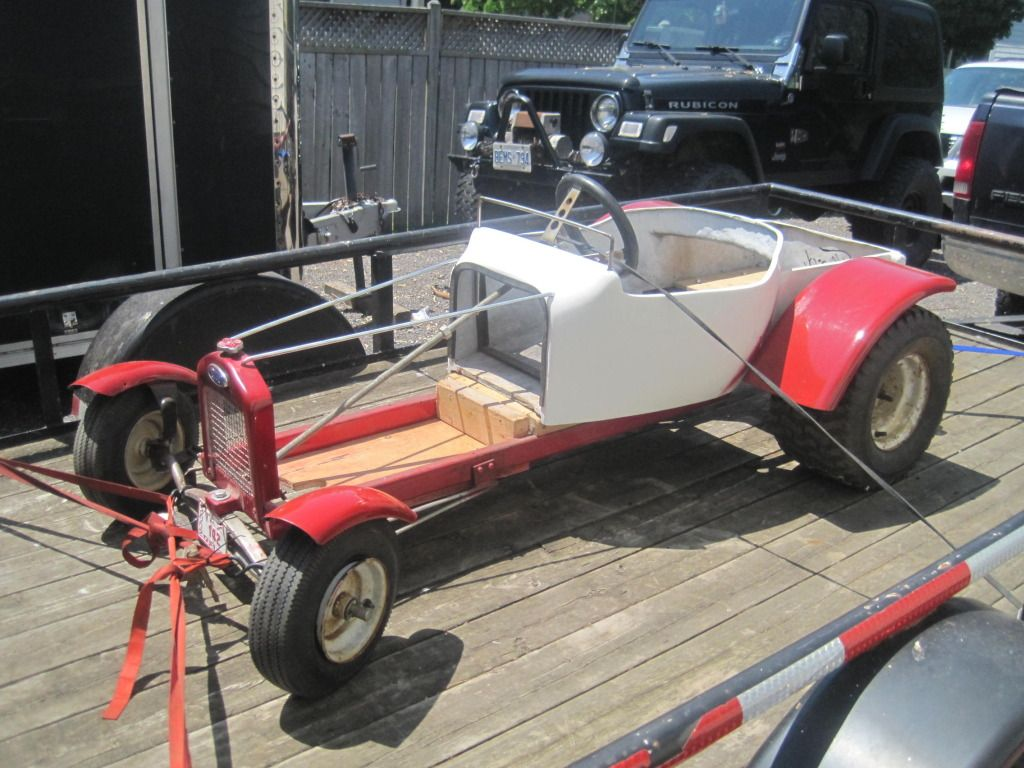 Mini T bucket kart build - Pirate4x4.Com : 4x4 and Off-Road Forum ...
