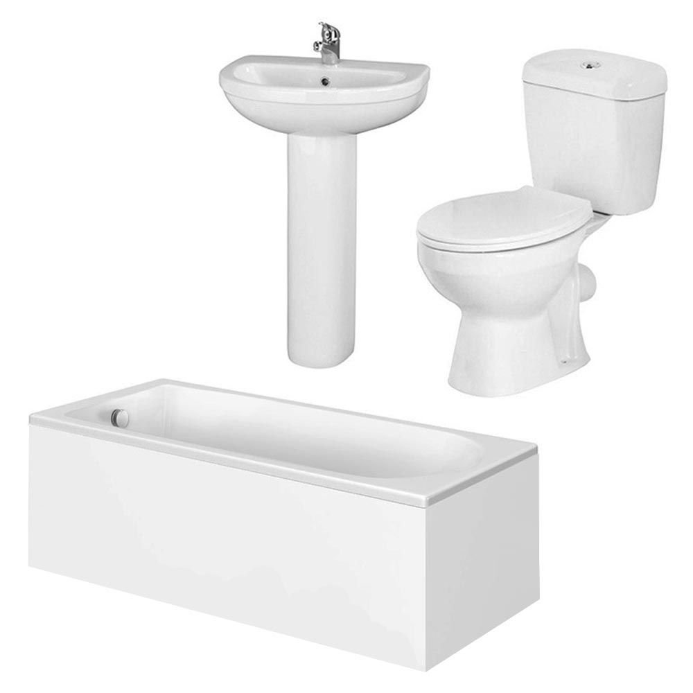 Barmby 5 Piece 1TH Bathroom Suite at Victorian Plumbing UK ...